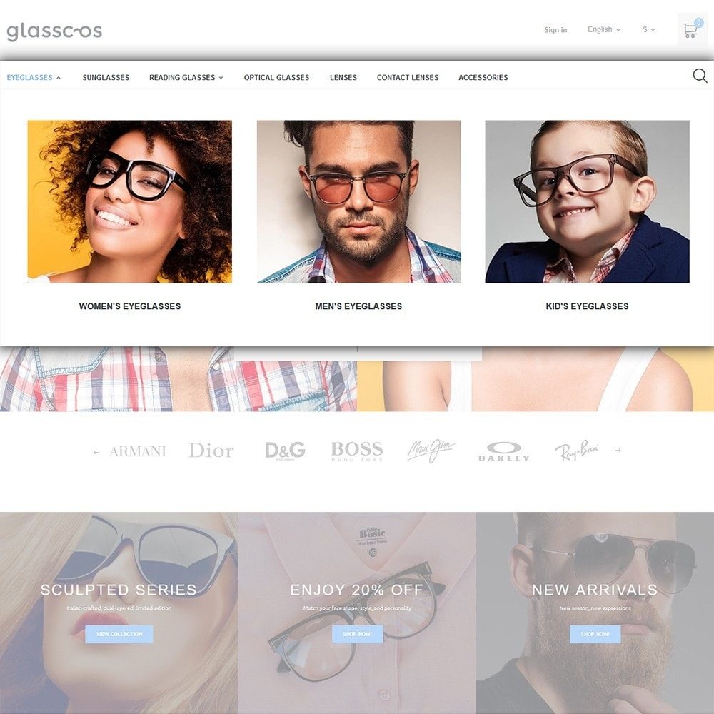 theme - Mode & Chaussures - Glasscos - 3