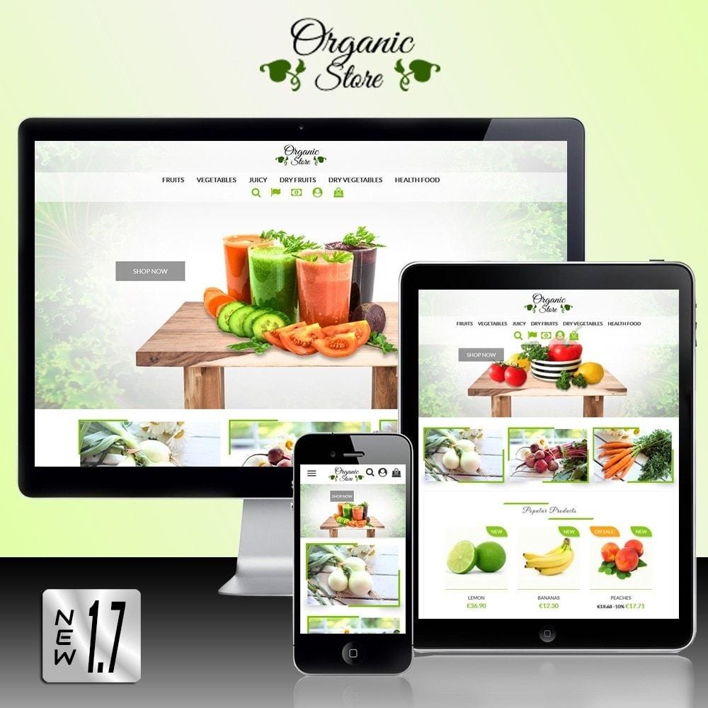 theme - Żywność & Restauracje - Organic Store - 1