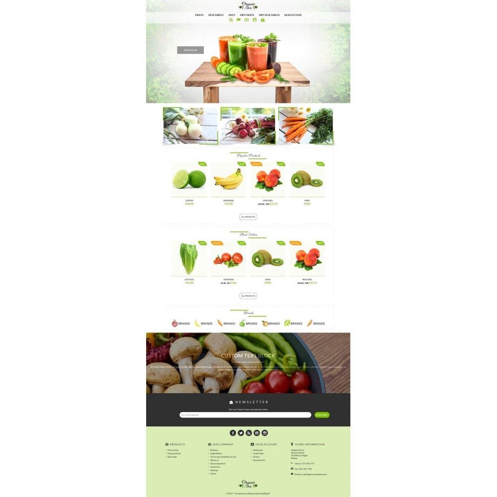 theme - Alimentos & Restaurantes - Organic Store - 2