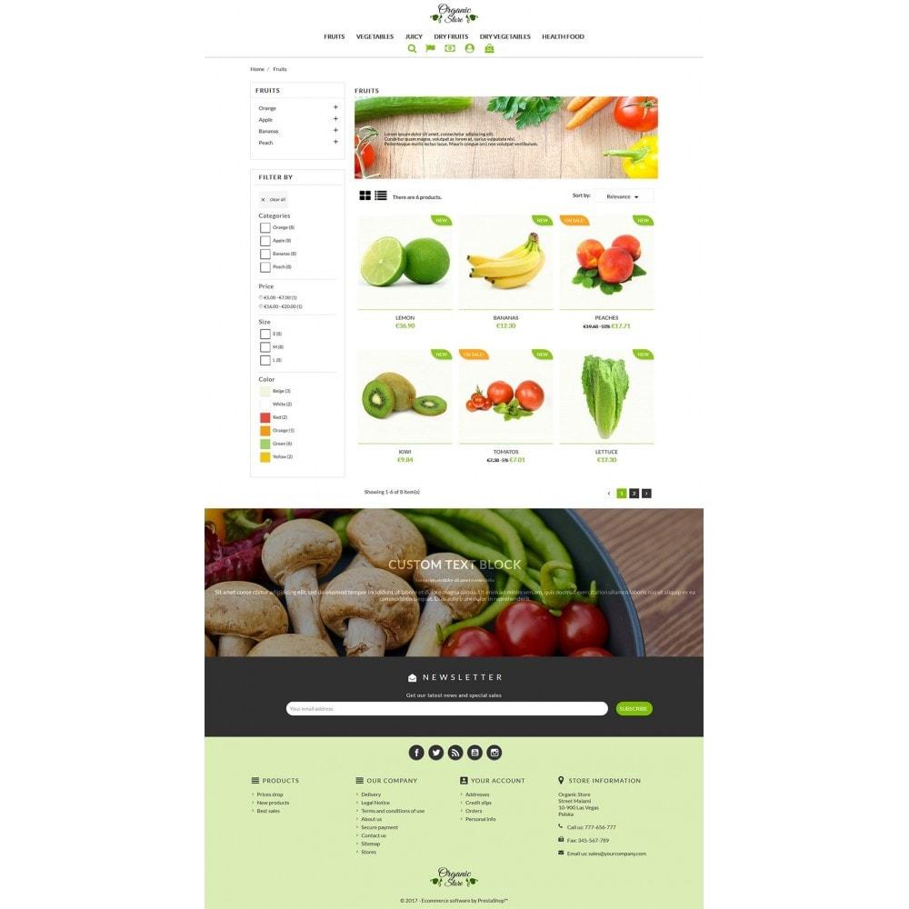 theme - Gastronomía y Restauración - Organic Store - 4
