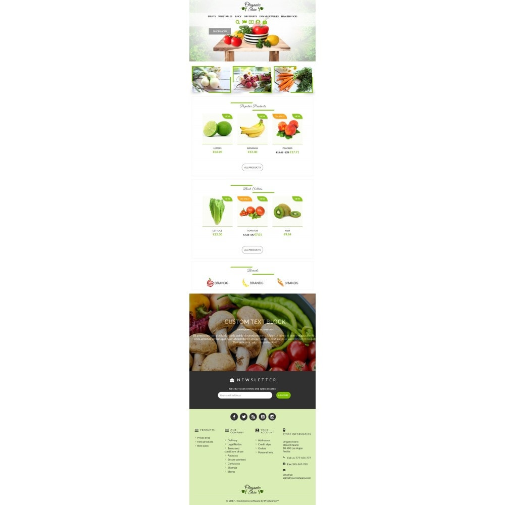 theme - Gastronomía y Restauración - Organic Store - 5