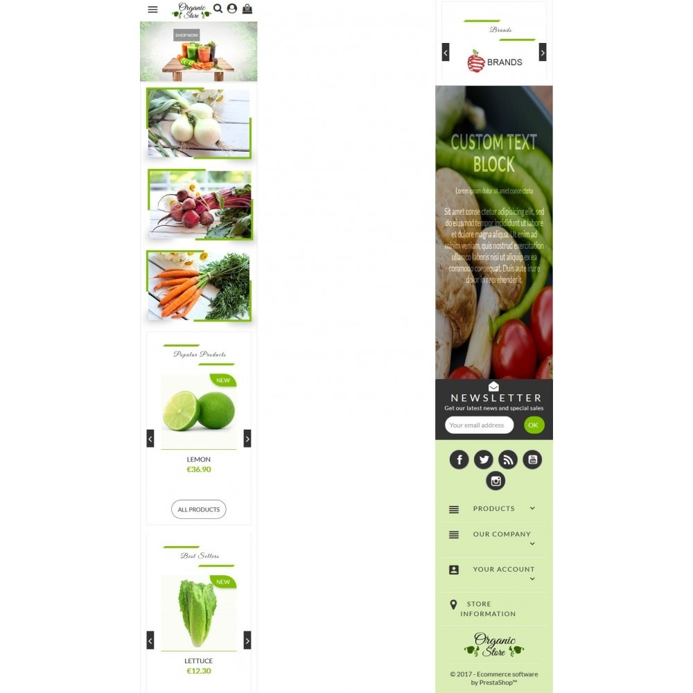 theme - Gastronomía y Restauración - Organic Store - 6