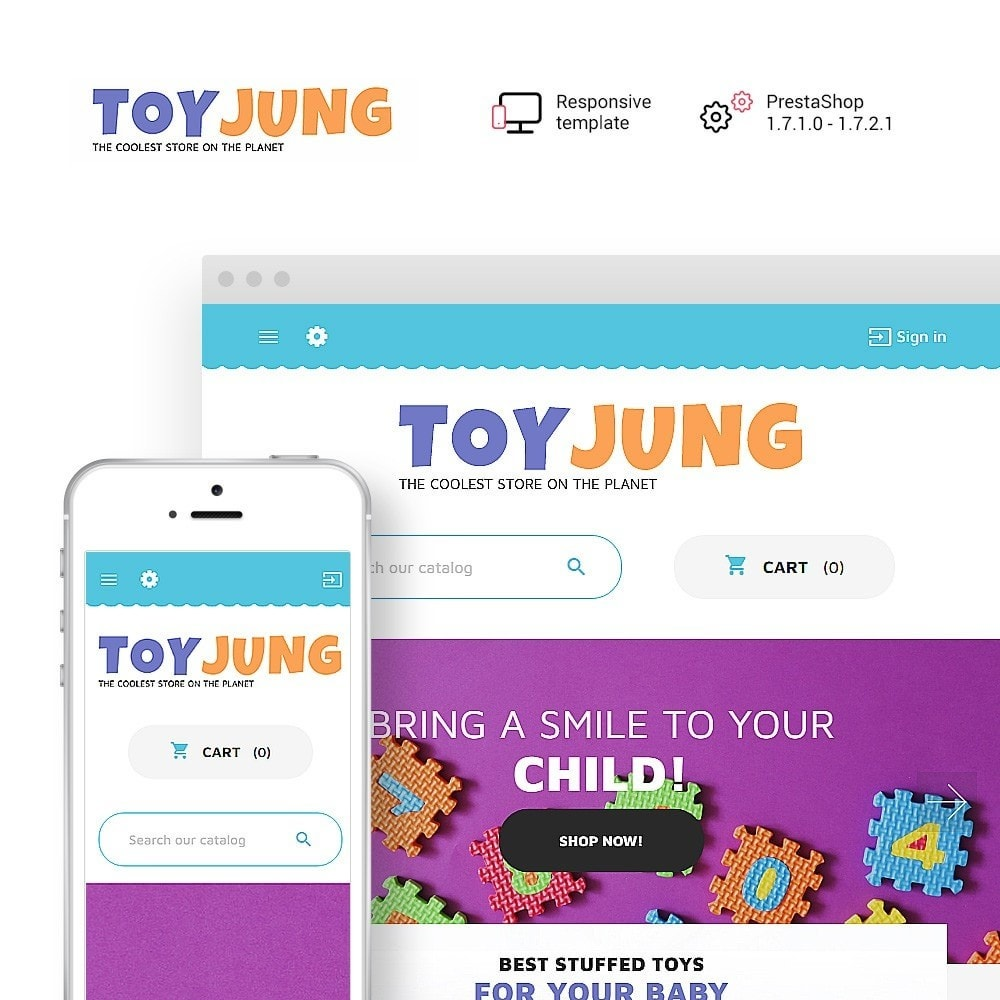 theme - Kids & Toys - ToyJung - Toy Store Responsive - 1