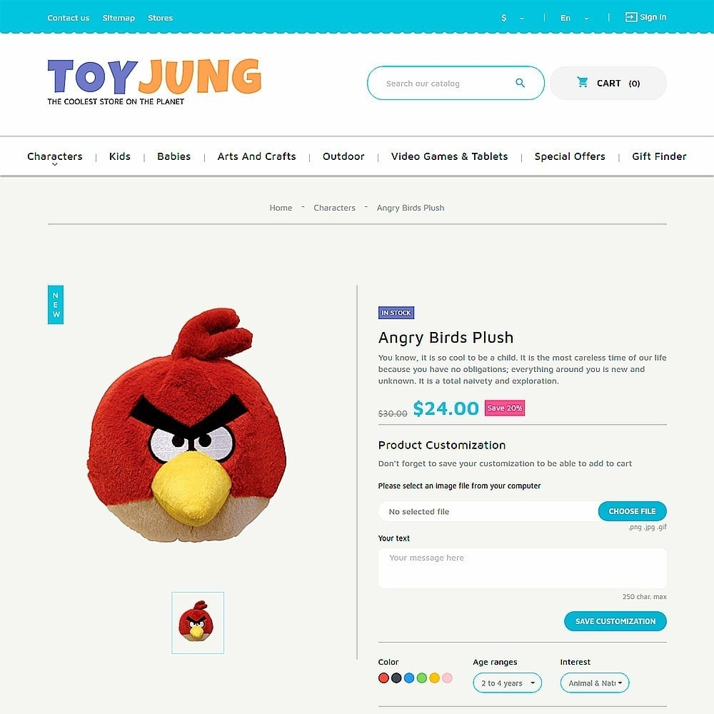 theme - Kids & Toys - ToyJung - Toy Store Responsive - 3