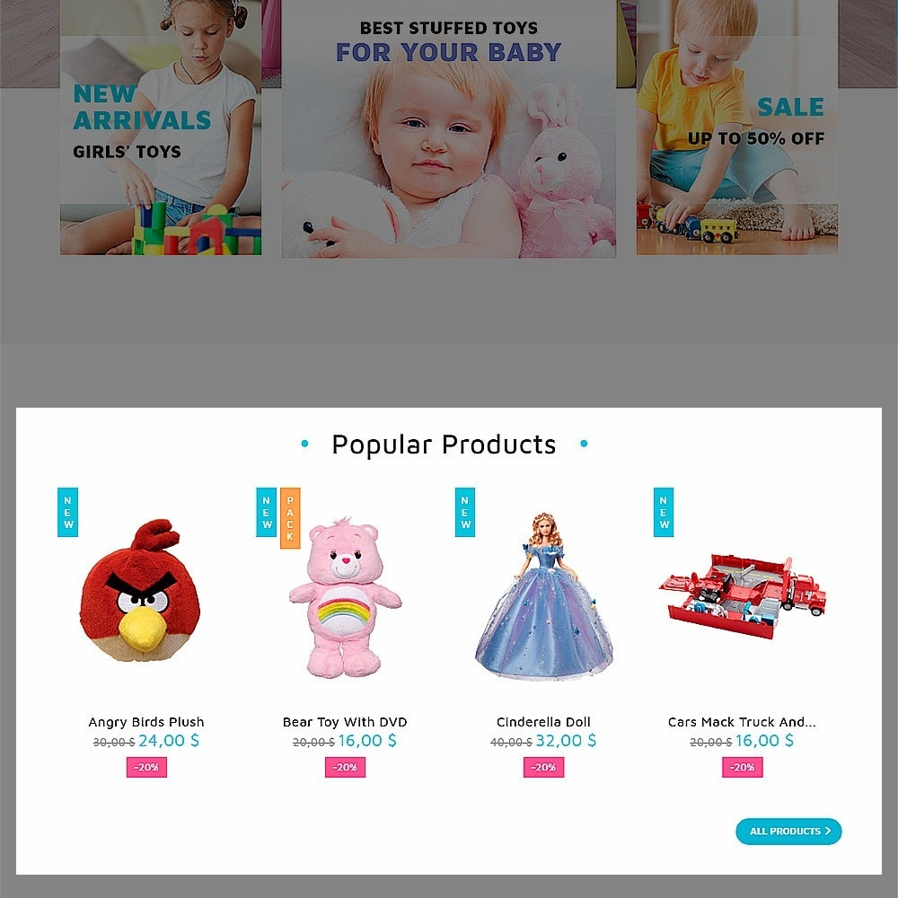 theme - Kids & Toys - ToyJung - Toy Store Responsive - 5