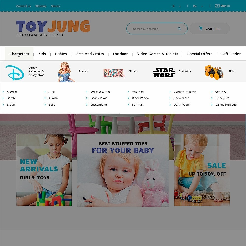 theme - Kids & Toys - ToyJung - Toy Store Responsive - 6