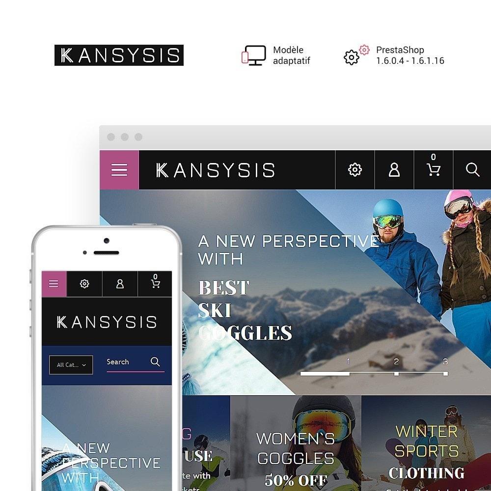 theme - Sport, Loisirs & Voyage - Kansysis - Vêtements et équipement sporti - 1