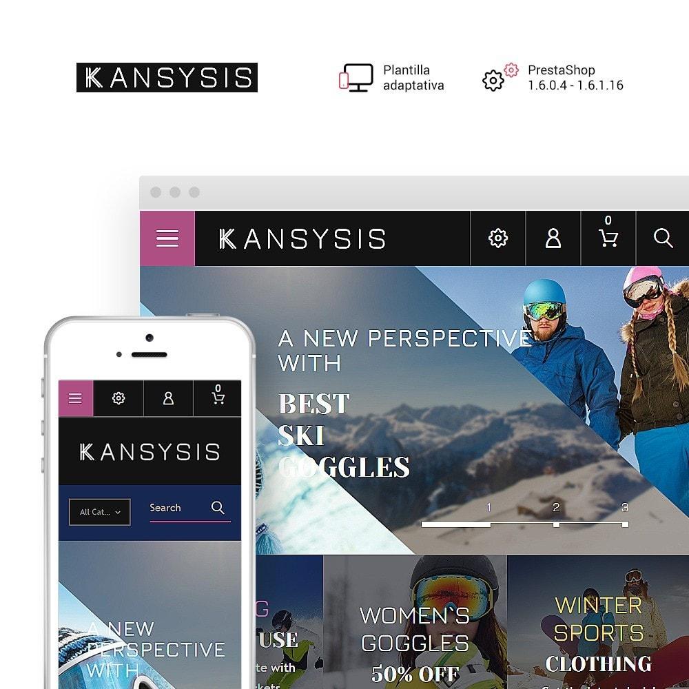 theme - Deportes, Actividades y Viajes - Kansysis - para Sitio de Tienda de Deportes - 1