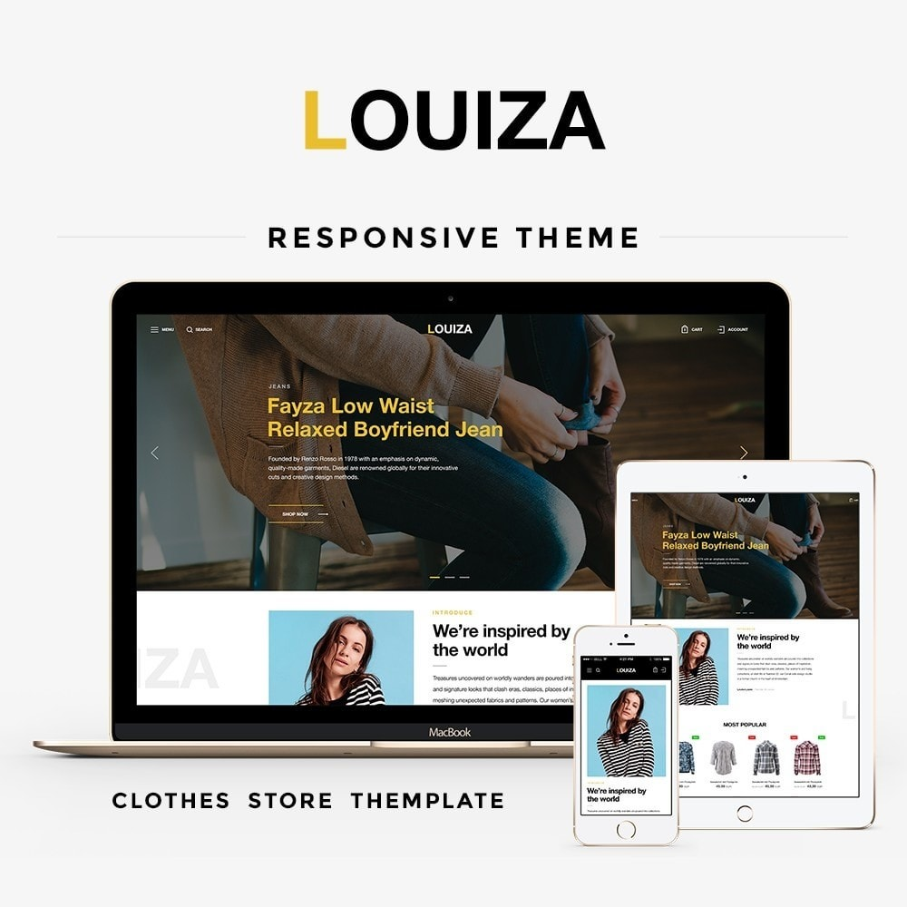 theme - Moda & Obuwie - Louiza Fashion Store - 1