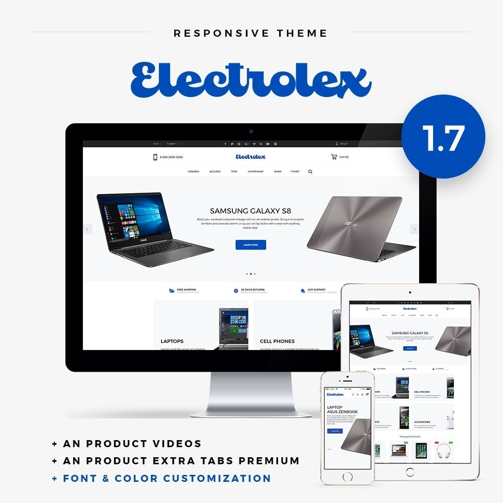 theme - Eletrônicos & High Tech - Elecrtolex - High-tech Shop - 1