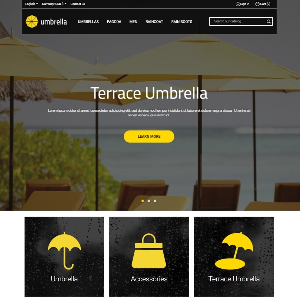 theme - Mode & Schoenen - Umbrella - 2