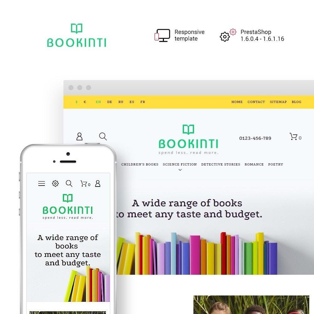theme - Kultura & Sztuka - Bookinti - Book Store - 1