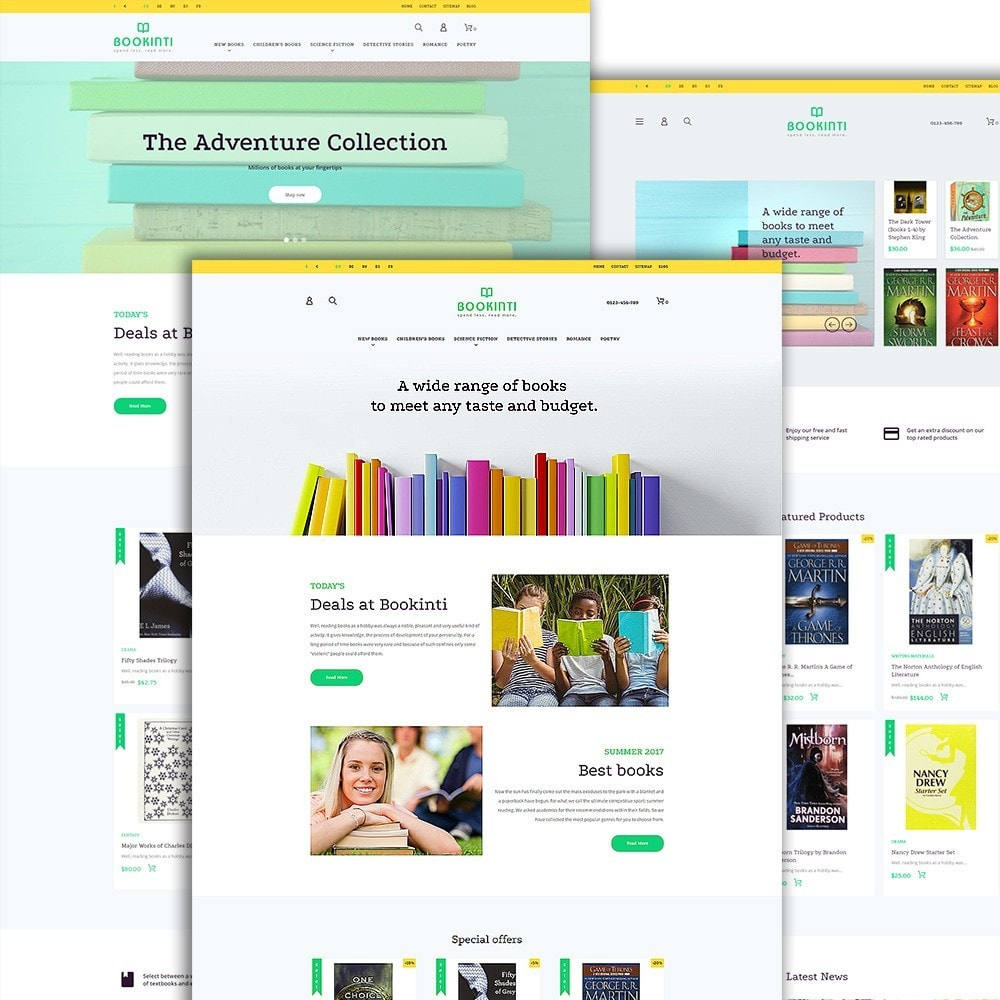 theme - Kultura & Sztuka - Bookinti - Book Store - 2