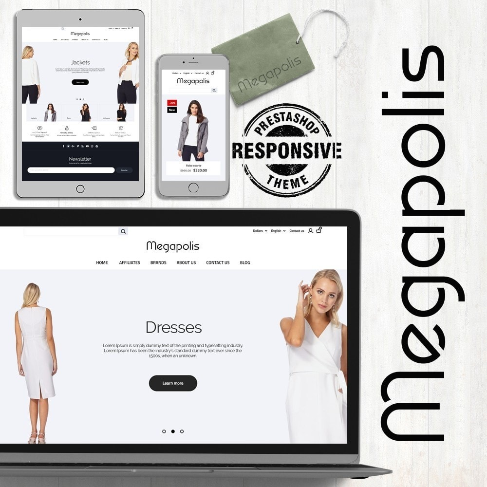 theme - Mode & Schuhe - Megapolis Fashion Store - 1