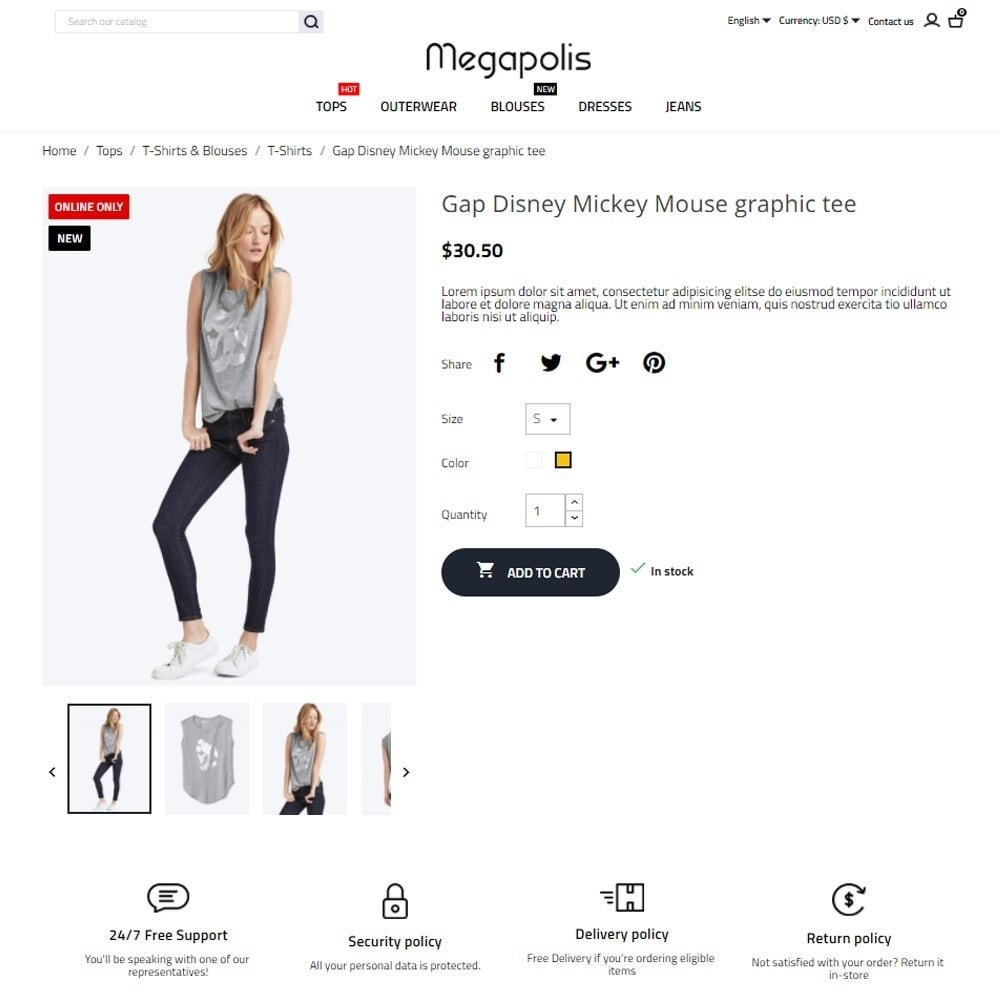 theme - Mode & Schuhe - Megapolis Fashion Store - 6