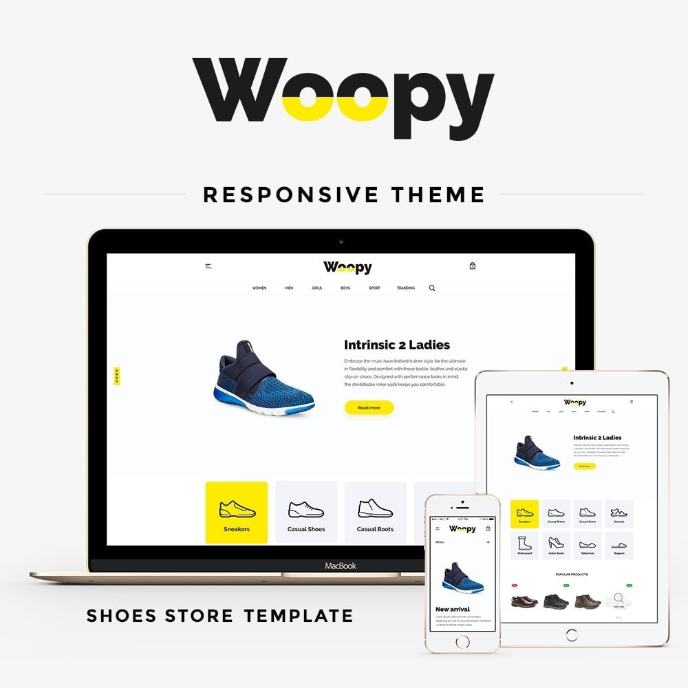 theme - Mode & Chaussures - Woopy Shop - 1