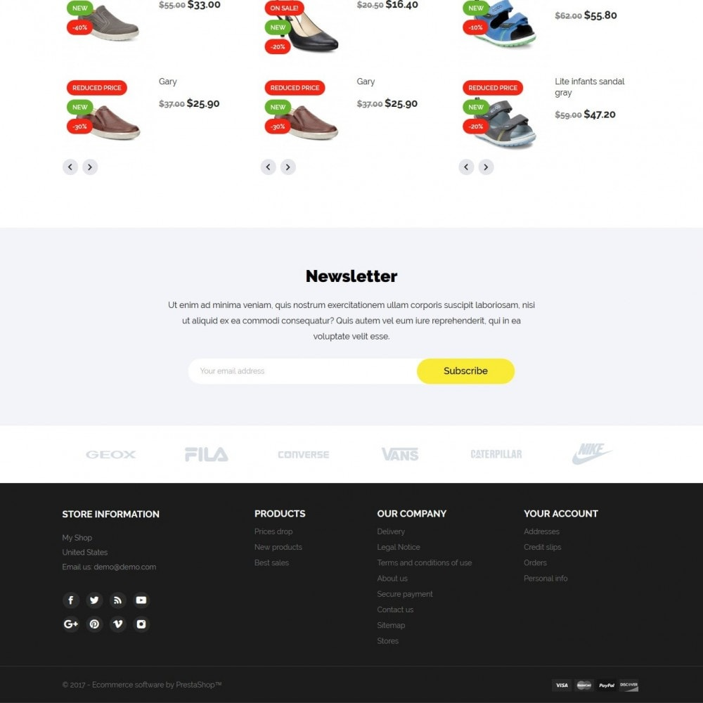 theme - Mode & Chaussures - Woopy Shop - 4