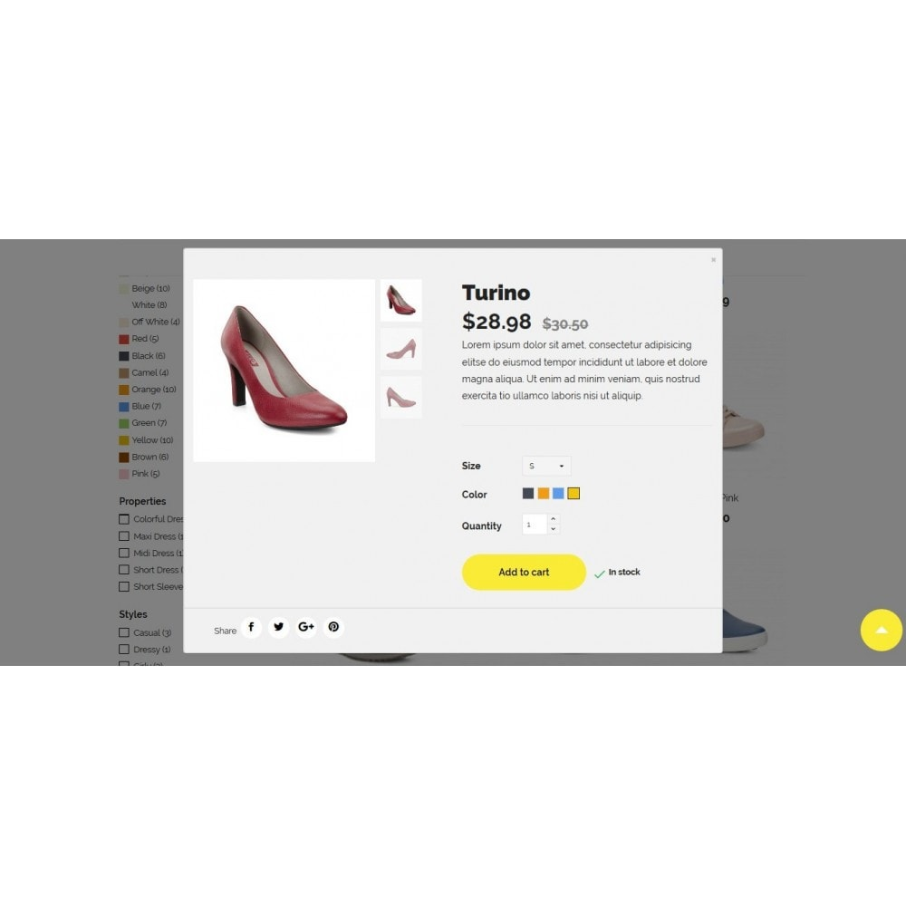 theme - Mode & Chaussures - Woopy Shop - 10