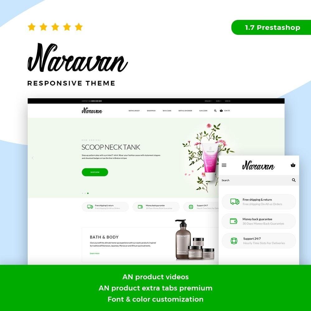 theme - Zdrowie & Uroda - Naravan Cosmetics - 1