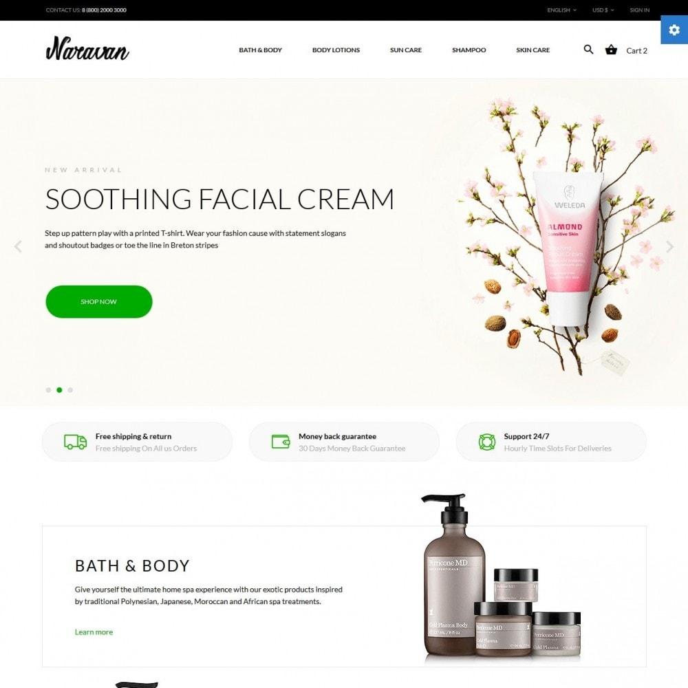 theme - Santé & Beauté - Naravan Cosmetics - 2