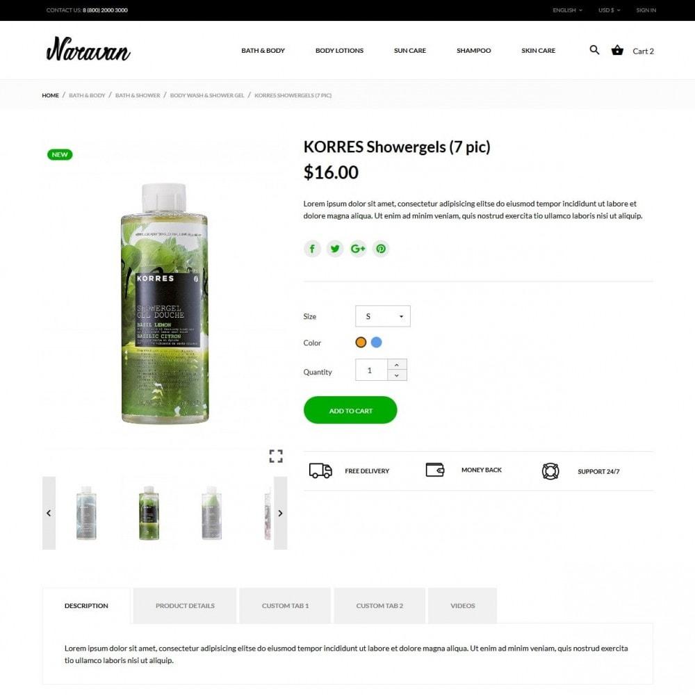 theme - Zdrowie & Uroda - Naravan Cosmetics - 6
