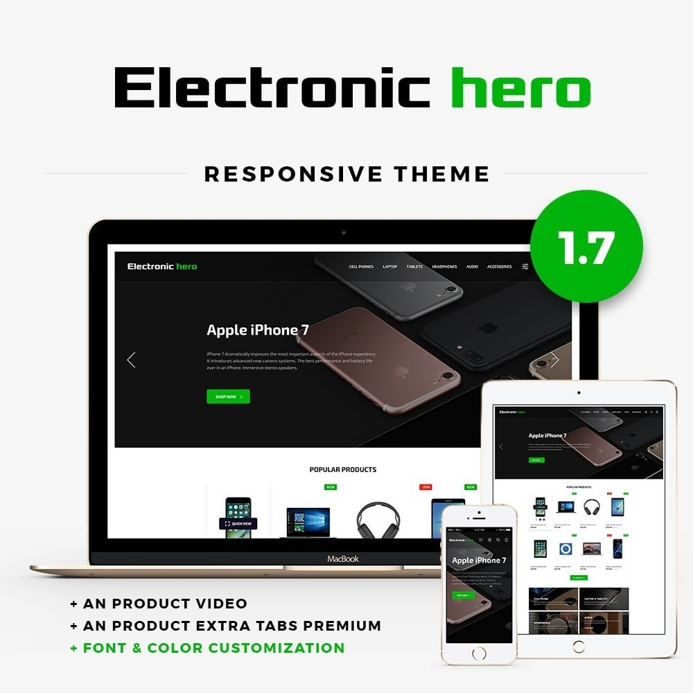 theme - Electronique & High Tech - Electronic Hero - High-tech Shop - 1
