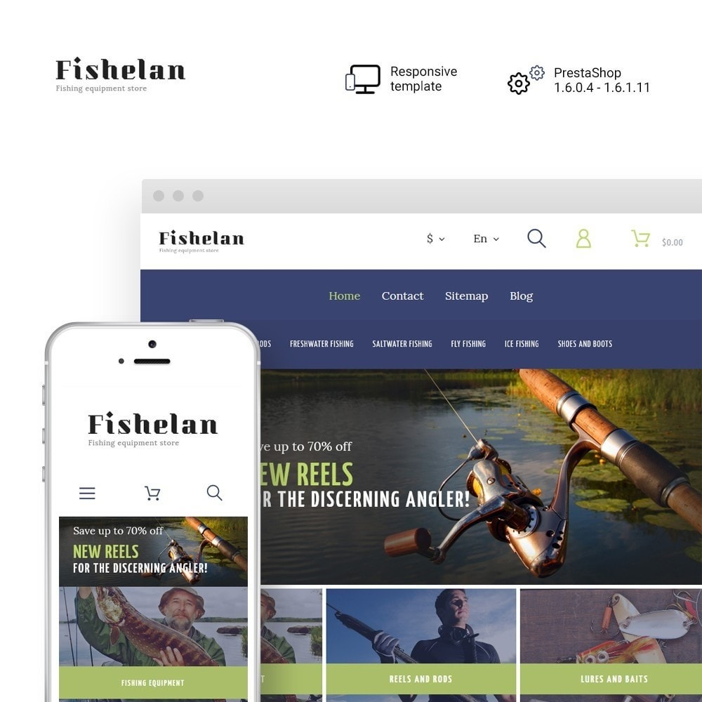 theme - Sports, Activities & Travel - Fishelan - Fishing Equipment - 1