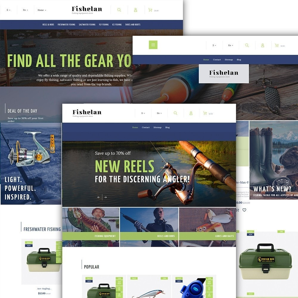 theme - Sports, Activities & Travel - Fishelan - Fishing Equipment - 2