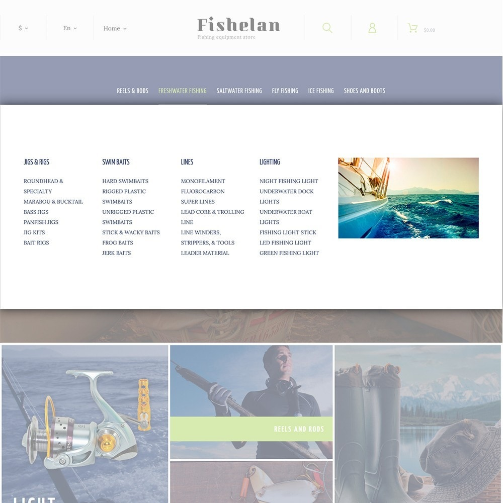 theme - Sport, Attività & Viaggi - Fishelan - Fishing Equipment - 4