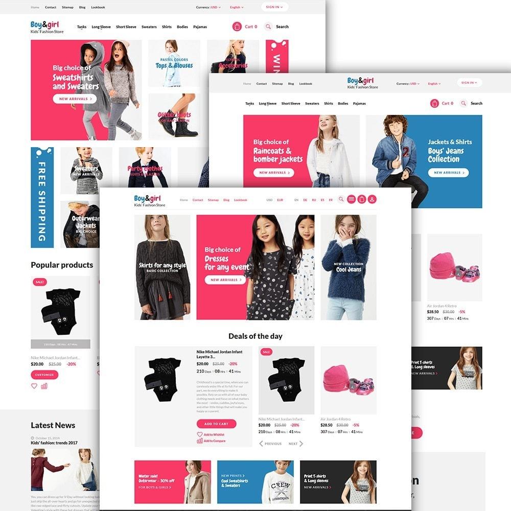 theme - Huis & Buitenleven - Boy&Girl - Kids Fashion Responsive - 7