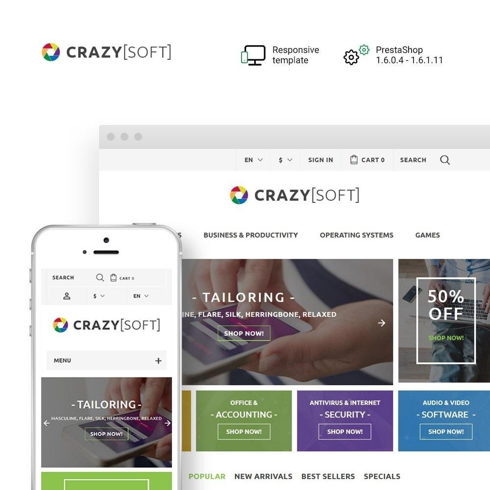 theme - Elektronik & High Tech - Crazy Soft - 1