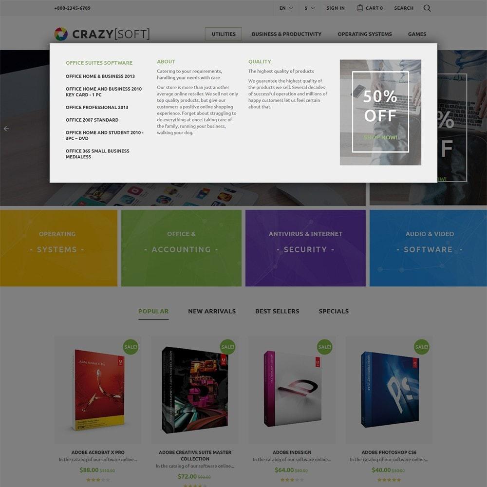 theme - Electrónica e High Tech - Crazy Soft - 5