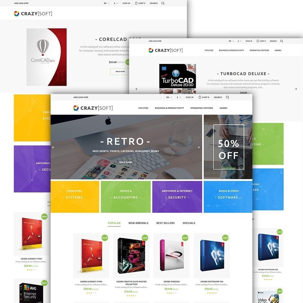 theme - Elettronica & High Tech - Crazy Soft - 2