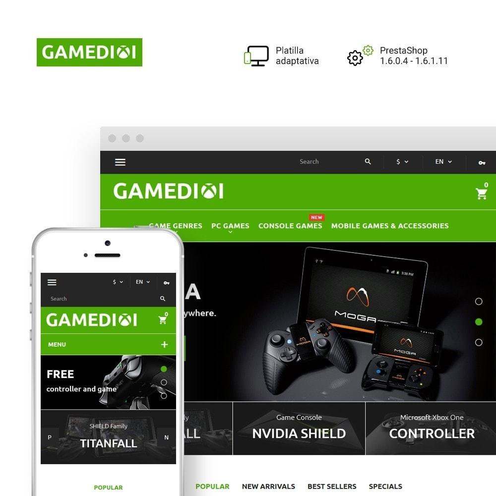 theme - Niños y Juguetes - Gamedixi - para Sitio de Portal de Juegos - 1