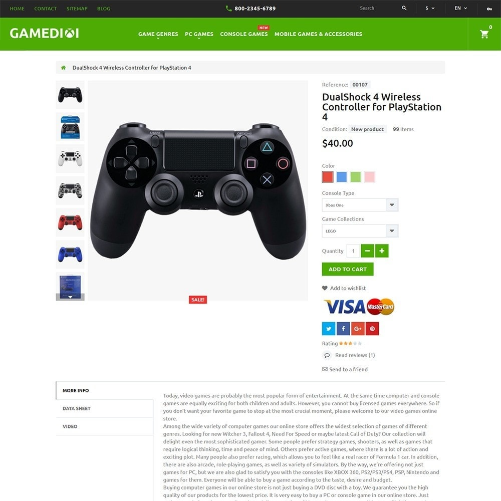 theme - Niños y Juguetes - Gamedixi - para Sitio de Portal de Juegos - 3