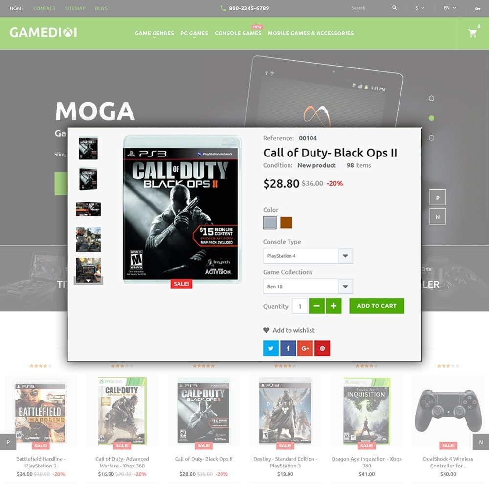 theme - Niños y Juguetes - Gamedixi - para Sitio de Portal de Juegos - 4