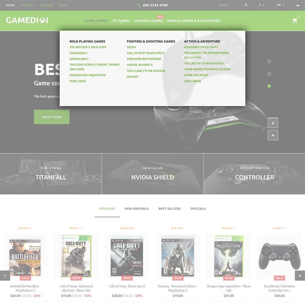 theme - Niños y Juguetes - Gamedixi - para Sitio de Portal de Juegos - 5