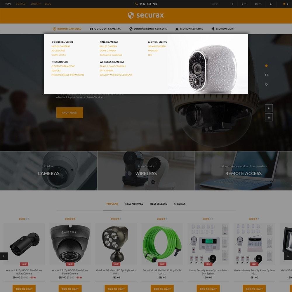 theme - Casa & Giardino - Securax - шаблон на тему систем безопасности - 5