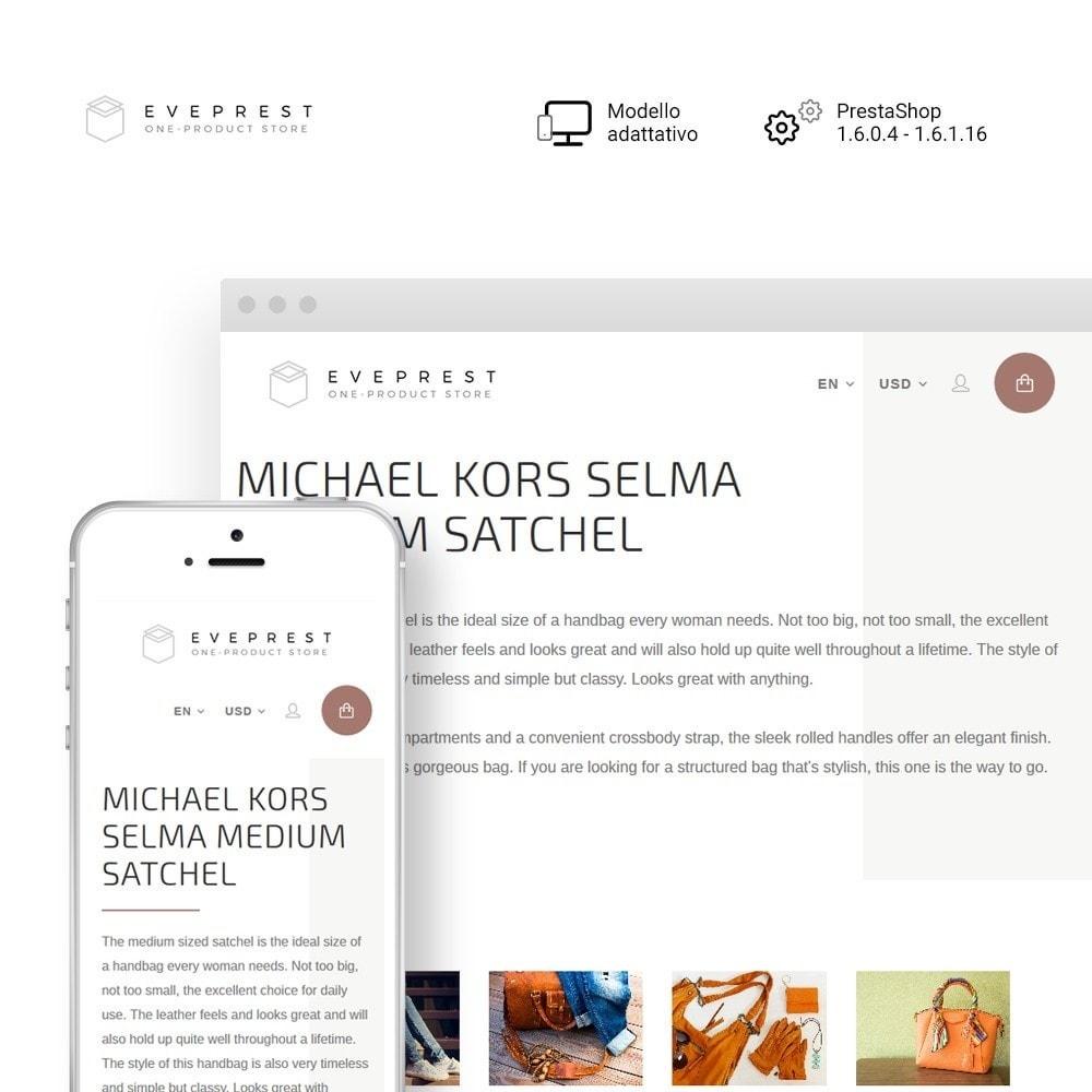 theme - Moda & Calzature - Eveprest - One-Product Store - 1
