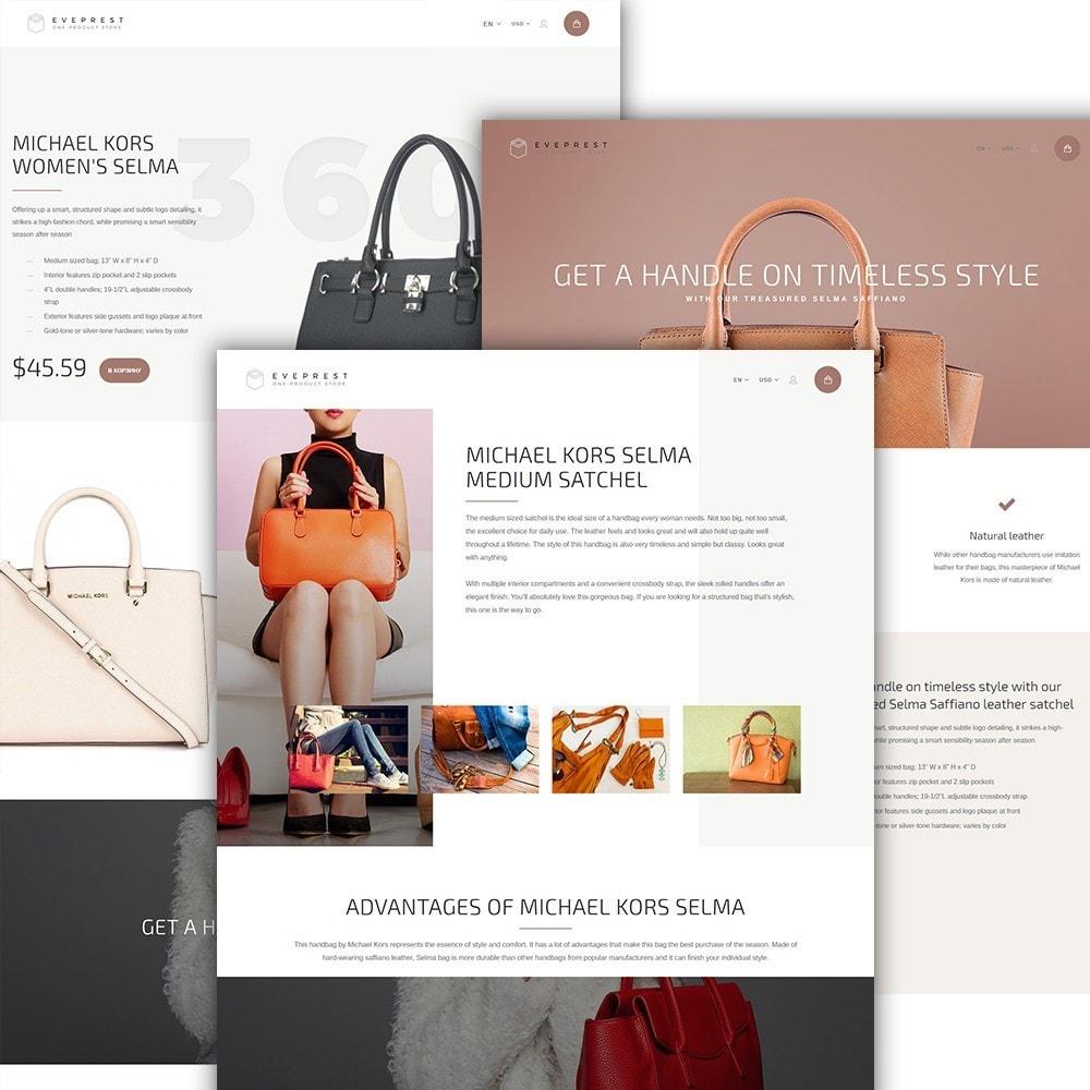 theme - Moda & Calzature - Eveprest - One-Product Store - 2