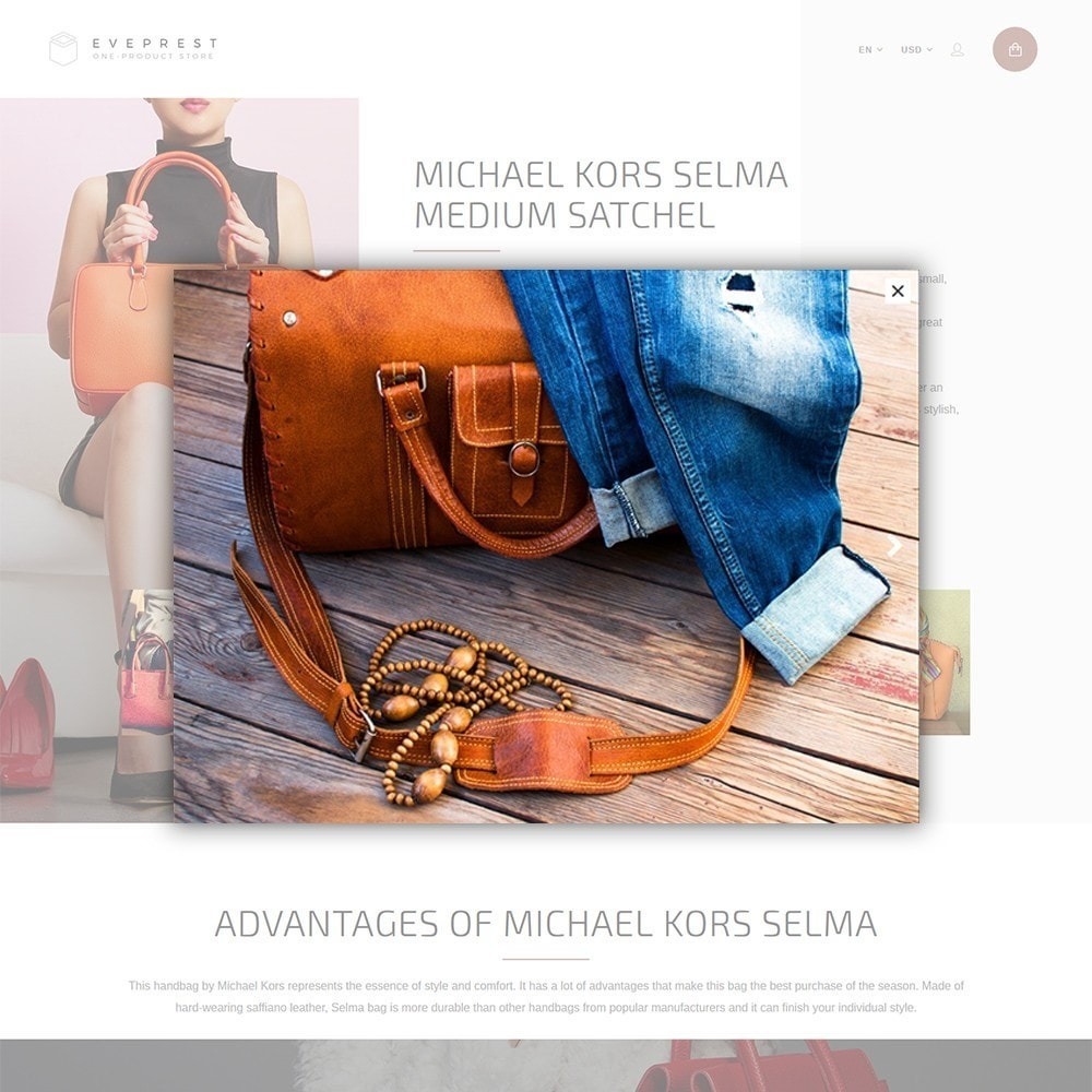 theme - Moda & Calzature - Eveprest - One-Product Store - 3