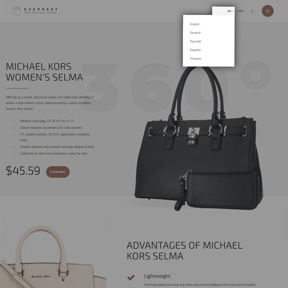 theme - Moda & Calzature - Eveprest - One-Product Store - 6