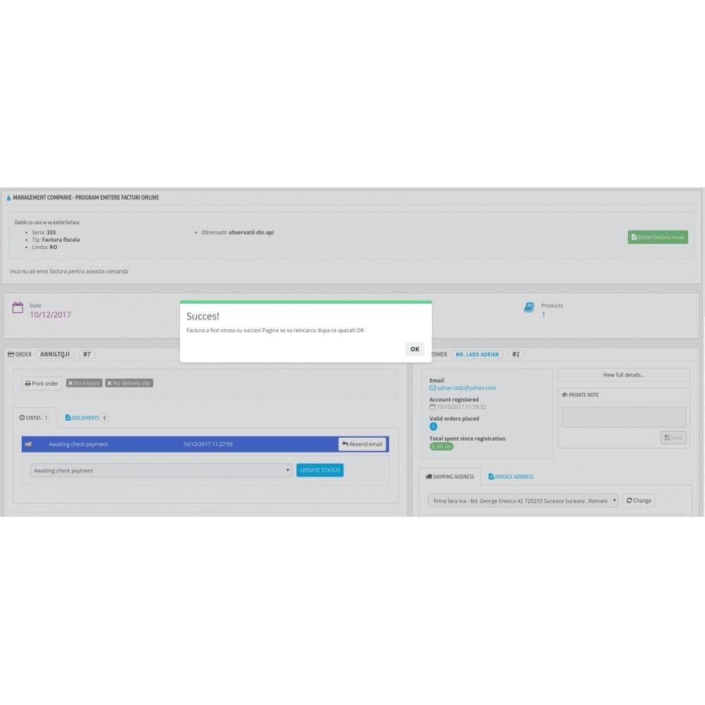 module - Buchhaltung & Rechnung - Management Companie - Online invoicing software - 3
