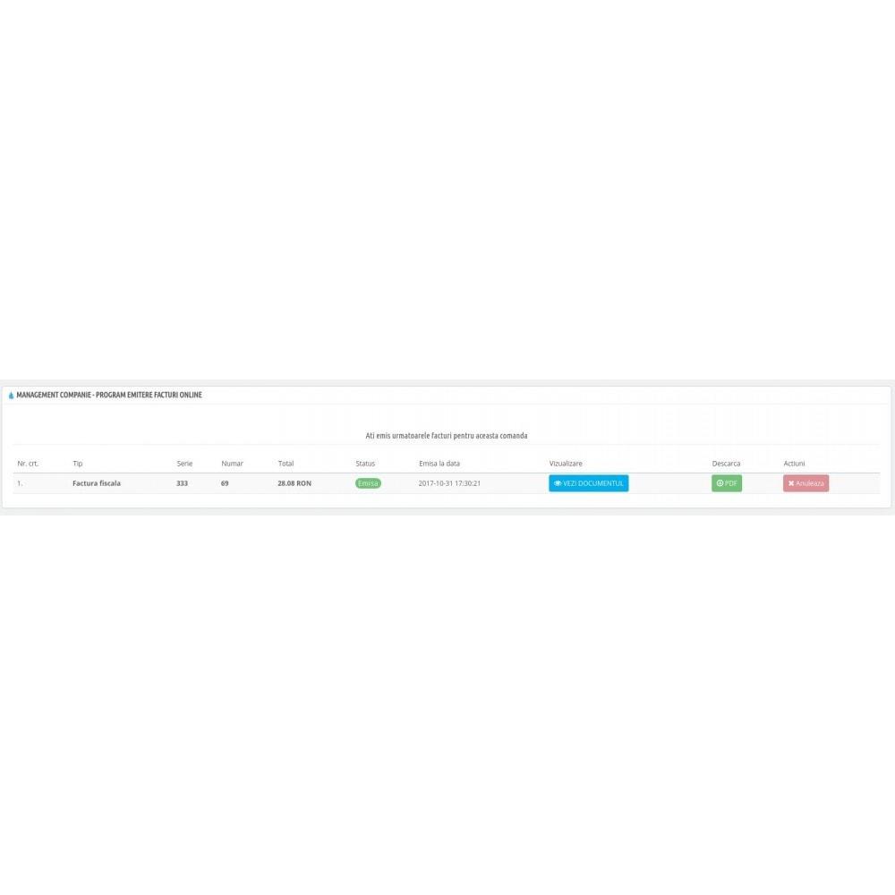 module - Contabilidade & Cobrança - Management Companie - Online invoicing software - 4