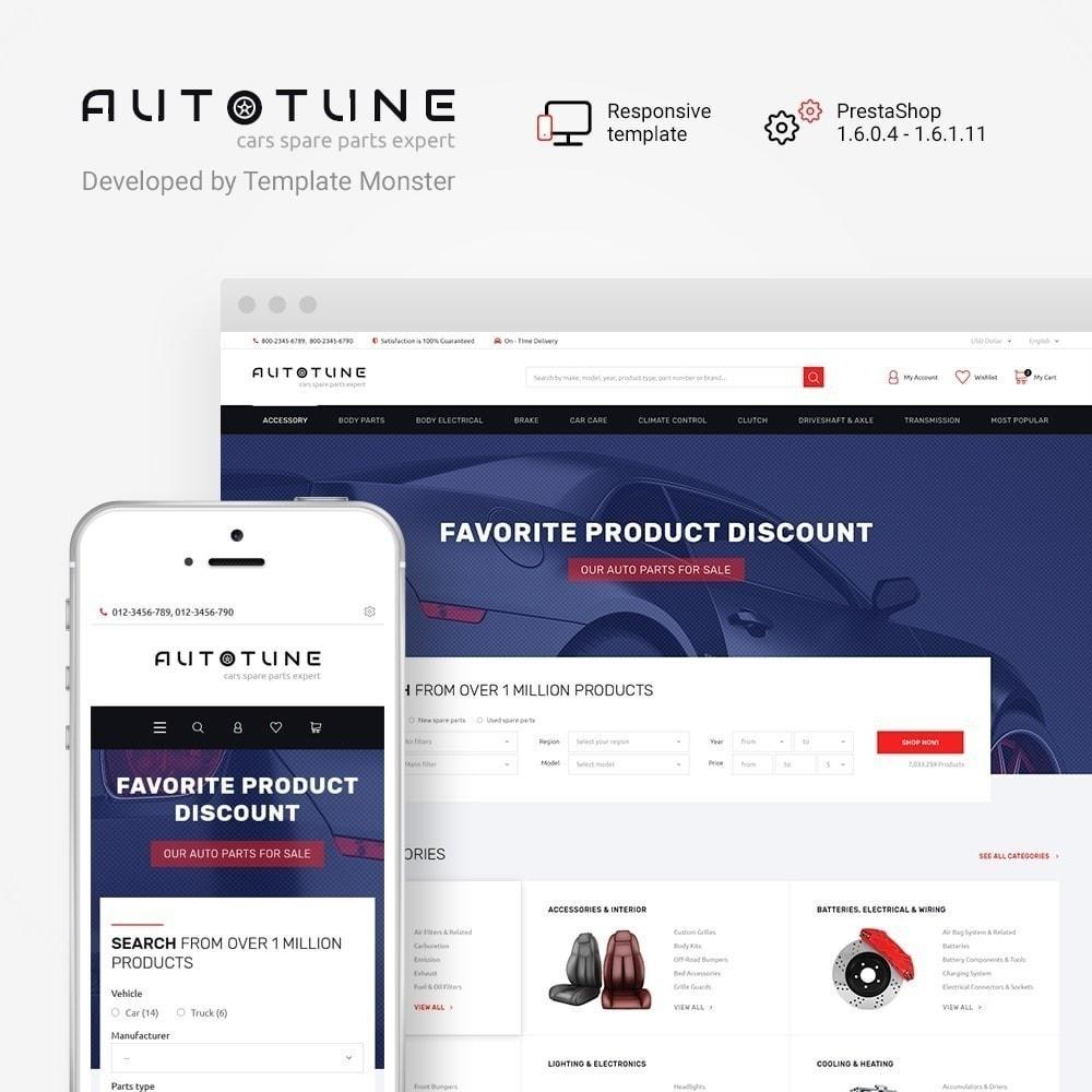 theme - Auto & Moto - Autotune - pour site de pièces automobiles - 2