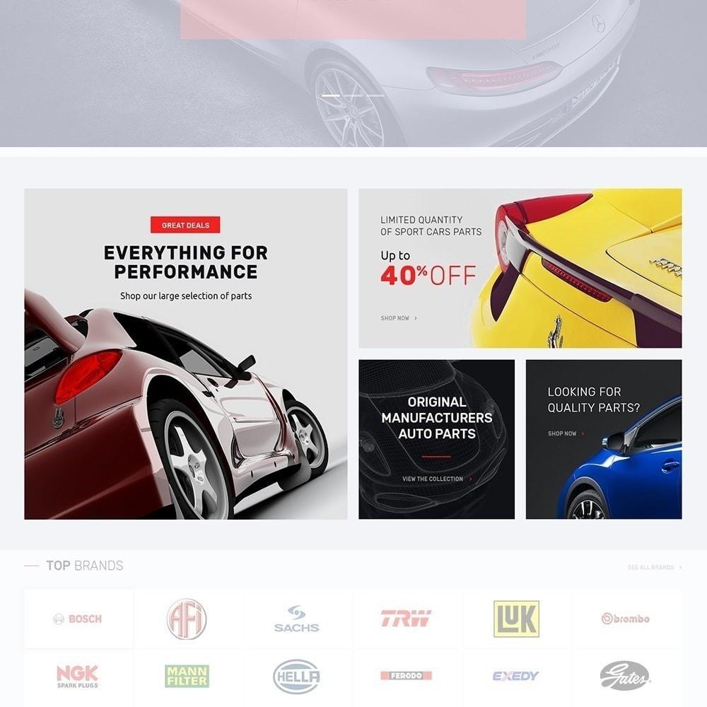 theme - Coches y Motos - Autotune - para Sitio de Repuestos de coches - 4