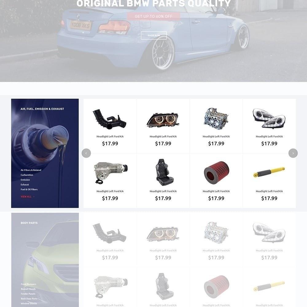 theme - Coches y Motos - Autotune - para Sitio de Repuestos de coches - 6