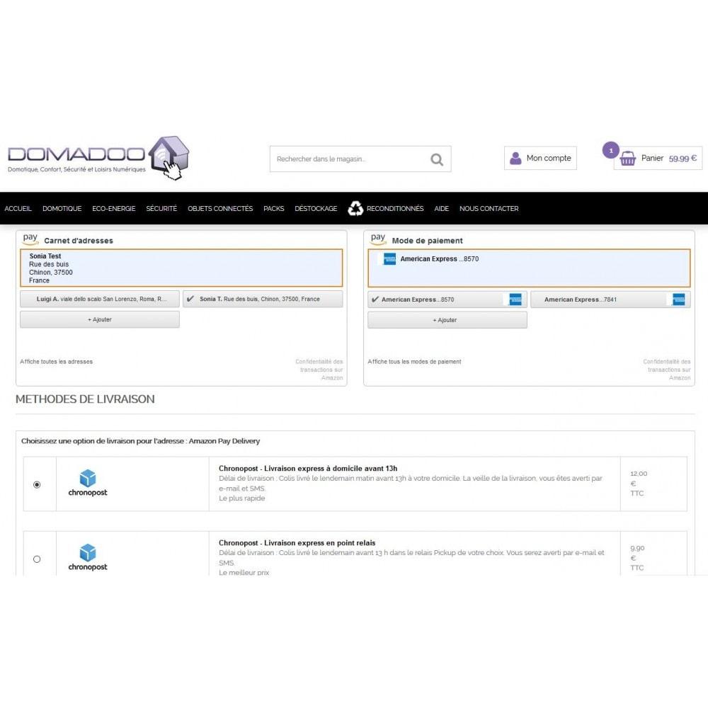 module - Paiement par Carte ou Wallet - Amazon Pay - 3