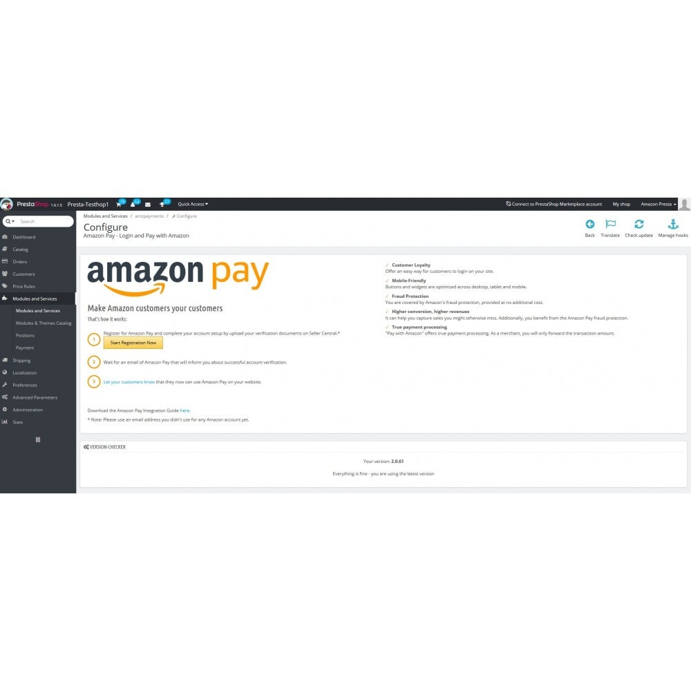 module - Creditcardbetaling of Walletbetaling - Amazon Pay - 2