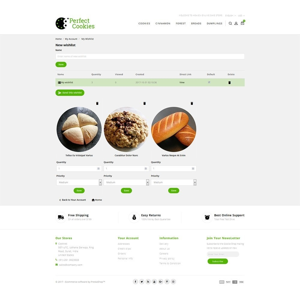 theme - Alimentation & Restauration - Cookies Store - 9